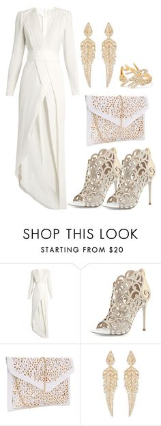 """""""Laser Cut [3]"""" by myxvonwh on Polyvore featuring Galvan, René Caovilla and Stephen Webster"""
