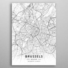 Valence France poster by from collection. By buying 1 Displate, you plant 1 tree. Wall Art Prints, Poster Prints, Canvas Prints, Cadre Design, City Map Poster, Art Carte, Map Wall Decor, Italy Map, Frames