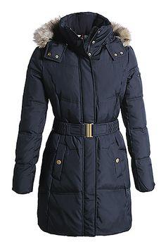 moncler mokacine hooded puffer long coat black