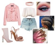 """Untitled #495"" by uniquee28 ❤ liked on Polyvore featuring Piel Leather, Aquazzura and T By Alexander Wang"