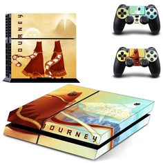 Journey ps4 skin decal for console and controllers