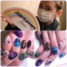 "Jill&Lovers on Instagram: ""EVRIS佐々木彩乃さん♡ @ayano__sasaki おそろいキャンペーン ジェル¥12000 スカルプ¥15000 本日より2ヶ月有効です。 ありがとうございました☺️ #jillandlovers #ネイル #nailart #paragel #gelnail #パラジェル #gel @haruna_hoshino"""