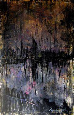 "Saatchi Art Artist Marijah Bac Cam; Painting, ""Couvre Feu"" #art"