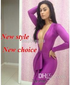 Best New Fashion 2013 Bandage Dress Backless Bodycon Dress Sexy Women 3 Sizes More Choice Dresses LYQ1372 Online with $13.98/Piece | DHgate