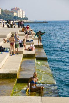 Summer in Zadar, Croatia