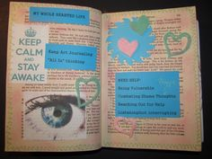 Staying Awake - Intentional Moves - Brene Brown Art Journal Ecourse, Gifts of Imperfection