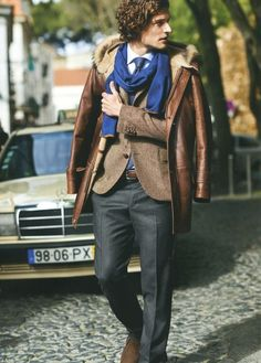Men's Fashion Blog | Layering | Style | Scarves