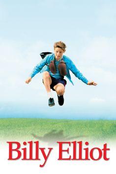 Billy Elliot Movie Poster - Jamie Bell, Julie Walters, Gary Lewis  #BillyElliot, #JamieBell, #JulieWalters, #GaryLewis, #StephenDaldry, #Comedy, #Art, #Film, #Movie, #Poster