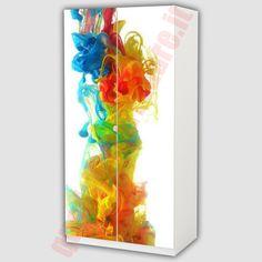 rivestimento #adesivo per @mobile con immagine #makeup   adesivi ... - Ikea Adesivi Per Mobili