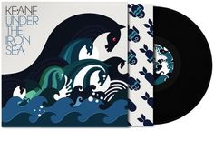 "Album cover design by Big Active for Keane's ""Under the Iron Sea"""