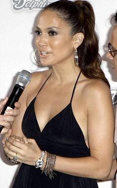 Jennifer Lopez wearing a Rolex Datejust President watch