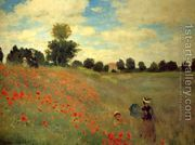 Wild Poppies, Near Argenteuil by Claude Oscar Monet