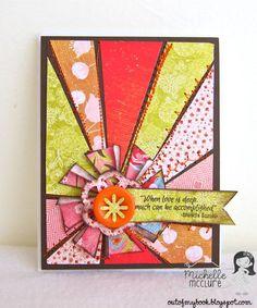 Paper Made Bakery: Sunburst Card