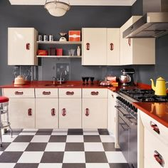 Excellent Retro Kitchen Ideas Plans Free