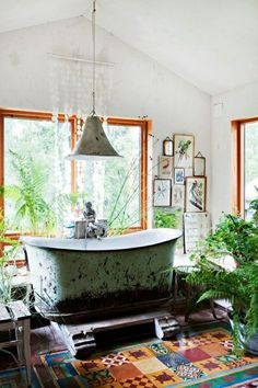 """"""" home designs gallery and decorating ideas new rustic bohemian interior design with is part of 11 in the series cool boho chic interior decorating ideas images, pictures, ideas home. Interior Flat, Cosy Interior, Bohemian Interior, Interior Design, Interior Modern, Interior Ideas, Bad Inspiration, Bathroom Inspiration, Chic Bathrooms"""
