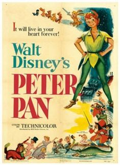 "Peter Pan ~ ""Wendy and her brothers are whisked away to the magical world of Neverland with the hero of their stories, Peter Pan."""