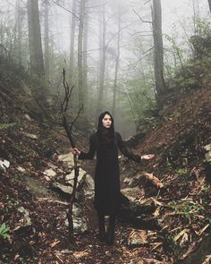 Keeper of the forest. Wearing oversized color block tunic handmade by @sophireaptress Photo - @dylanxvx