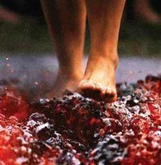 walk across hot coals
