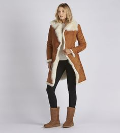 Toscana Shearling Coat - Toscana Shearling Coat