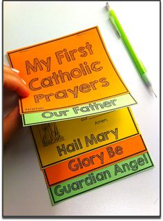 Fill-In-the-Blanks booklet for Catholic Prayers: Learn, Review, & Memorize the Our Father, Hail Mary, Glory Be, and Guardian Angel prayers