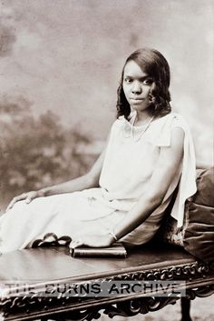 Young African American girl c.1920s, Burns Archive