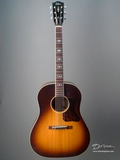 Gibson Advanced Jumbo another great classic in recording with Martin D18,  electrified is the famous, J160 of Beatles.