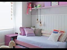 Faça você mesma a decoração de um quarto pequeno de criança