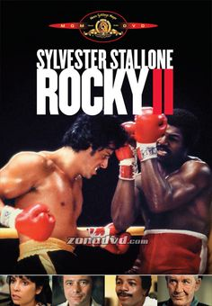 Rocky II - my personal favorite of the Rocky movies. Rocky Ii, Sylvester Stallone, Talia Shire, Rocky Balboa, Old Movies, Great Movies, Awesome Movies, Movies Free, Love Movie
