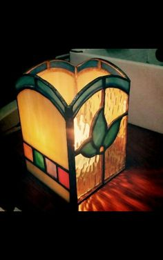 Stainedglass candle holder ♥♥