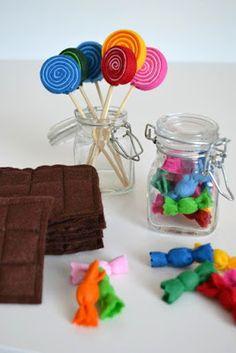 DIY - Süßigkeiten für den Kaufmannsladen selber basteln