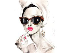 Limited Edition Fashion by RongrongIllustration on Etsy