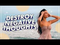Negative Thinking, Negative Thoughts, Positive Thinker, Live Your Life, Live For Yourself, How To Become, Healing, Positivity, Youtube
