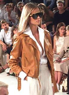 Ralph Lauren Spring 2016- leather