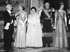 Queen Ingrid wore this tiara for a dinner during the Italian State Visit in April 1964.
