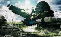 O vôo da águia por 35 Elissandro