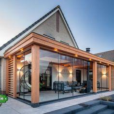 Back Garden Design, Backyard Garden Design, Patio Deck Designs, Patio Design, Veranda Design, Hot Tub Garden, Small Balcony Decor, Pergola, House Extension Design