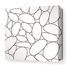 Inhabit Madera River Rock Stretched Graphic Art on Canvas $72