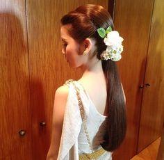 Thai Wedding Hairstyle Cr.Nongchat