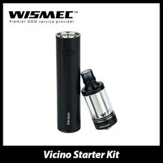 The #WISMEC VICINO is an all-in-one Starter Kit that combines a 3.5ml atomizer with Vicino Mod (operates with 18650 battery). Featuring top e-liquid filling, battery display functions, bottom airflow control, compact size and stylish shape, it is the perfect companion for vapers who are after practicality and functionality!