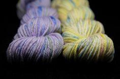 vlna merino BIO - MINI PEPITO žltá - Hand Dyed Yarn - Fingering - ručne farbená vlna na pletenie :: eshop.vlna-art.sk