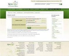 KBD (Kew Bibliographic Databases) facilita acceso a tres bases de datos bibliográficas de los Royal Botanic Gardens: The Kew Record of Taxonomic Literature ; PMBD (Plant Micromorphological Bibliographic Database); y EMBD (Economic Botany Bibliographic Database).