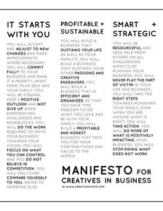 Why do you do what you do? The Creative Hive Manifesto exists for four reasons. Download the manifesto and print it out today. Let it guide you.