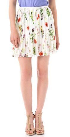 BB Dakota Cambree Print Skirt / Shopbop