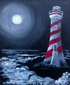 The Striped Lighthouse by toni