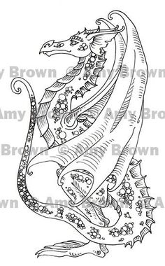dead tree autumn zentangle adult coloring page gift von Kawanish ...