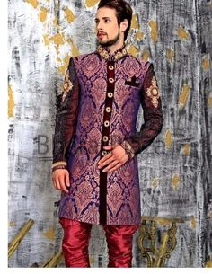Bharat Plaza Wedding Sherwanis For Grooms 2015 | Stylish Men Wedding Sherwanis