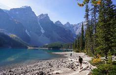 Moraine Lake, Banff, Alberta, BC 2012