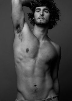 Alex Libby. I guess he's my favorite male model.