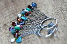 Bohemian Jewelry * Rustic Boho Sterling Silver  Summer Allegories  by Tribalis