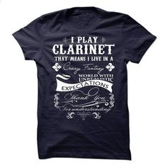 Clarinet - #sweatshirts for men #fitted shirts. PURCHASE NOW => https://www.sunfrog.com/Music/Clarinet-81403367-Guys.html?60505